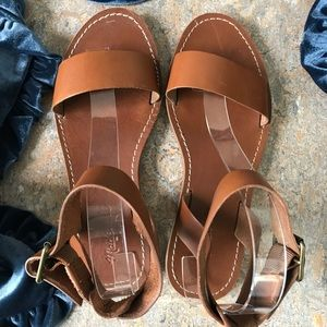 Madewell Shoes - Madewell Boardwalk Ankle-Strap Sandals Shoes